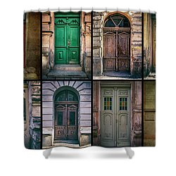 Shower Curtain featuring the photograph Twelve Gates Of My Hometown by Jaroslaw Blaminsky
