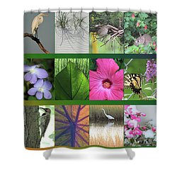 Shower Curtain featuring the photograph Twelve Months Of Nature by Peg Toliver