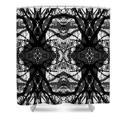 Twelve Trees Shower Curtain