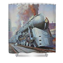 Twenthieth Century Limited Shower Curtain