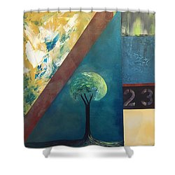 Twenty Three 23 Shower Curtain
