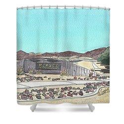 Twentynine Palms Welcome Shower Curtain
