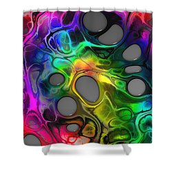 Twice Upon A Mind Shower Curtain