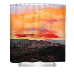 Twilight 8 Shower Curtain by M Diane Bonaparte