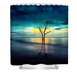 Twilight At The Boneyard Shower Curtain