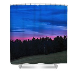 Twilight Field Shower Curtain