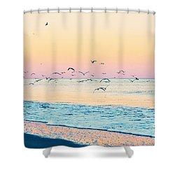 Twilight Flight Shower Curtain