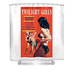 Twilight Girls Shower Curtain