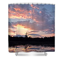 Twilight Glory Shower Curtain