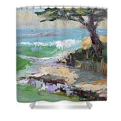Twilight In Santa Cruz Shower Curtain