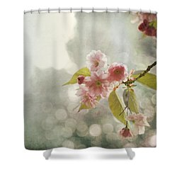 Twilight In The Garden Shower Curtain by Brooke T Ryan