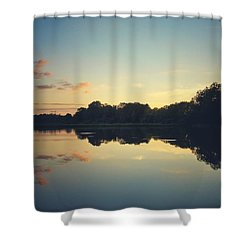 Shower Curtain featuring the photograph Twilight by Karen Stahlros