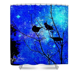 Twilight Shower Curtain by MaryLee Parker