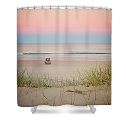 Twilight On The Beach Shower Curtain
