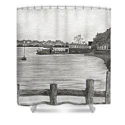 Twilight On Tomales Bay Shower Curtain