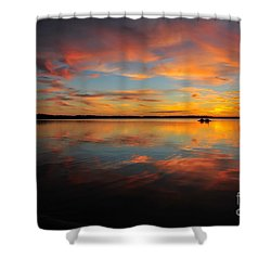 Twilight Reflection Shower Curtain