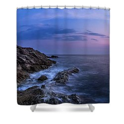 Twilight Sea Shower Curtain