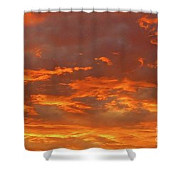 Twilight Sky Shower Curtain