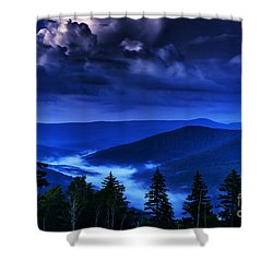 Twilight Thunderhead Shower Curtain