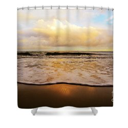 Twilight Tides Shower Curtain