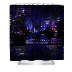 Twilight Time Shower Curtain