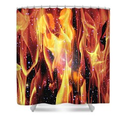 Twin Flames Shower Curtain