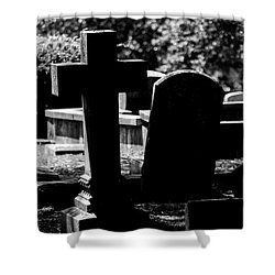Twin Graves Shower Curtain