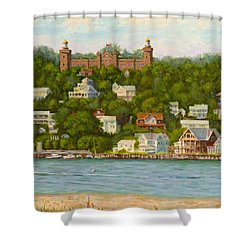 Twin Lights  Shower Curtain