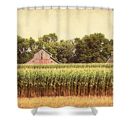 Shower Curtain featuring the photograph Twin Peaks by Julie Hamilton