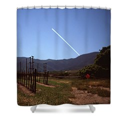 Twinkle Over Monterey Shower Curtain