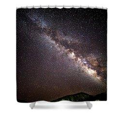 Twinkle Twinkle Shower Curtain by Ryan Weddle