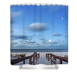 Twinkling Stars Shower Curtain by Don Spenner