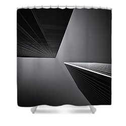 Twins Shower Curtain by Michael Hope