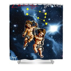 Twins Of Heaven Shower Curtain