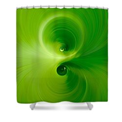 Twist Shower Curtain by Andre Brands