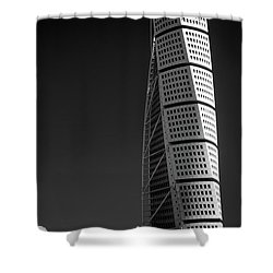 Twisted #3 Shower Curtain