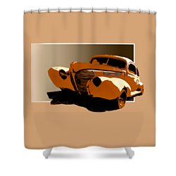 Twisted 40 Shower Curtain