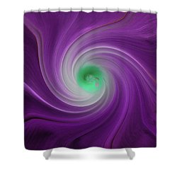 Twisted Glory 3 Shower Curtain by Michael Peychich