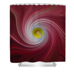 Twisted Glory Two Shower Curtain by Michael Peychich