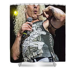 Twisted Sister - Dee Snider Shower Curtain