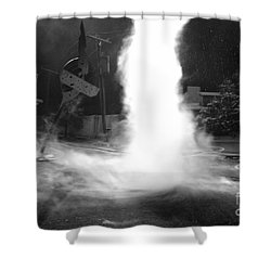 Twister In The Neighborhood Shower Curtain by David Lee Thompson