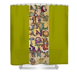 Twisty Shower Curtain