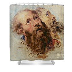 Two Apostles Shower Curtain by Rubens