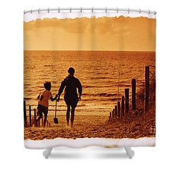 Two At Sea Shower Curtain