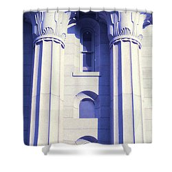 Two Columns Shower Curtain