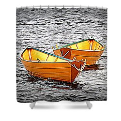 Two Dories Shower Curtain