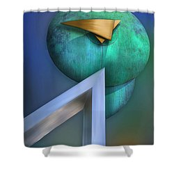 Shower Curtain featuring the photograph One Forty Seven by Paul Wear