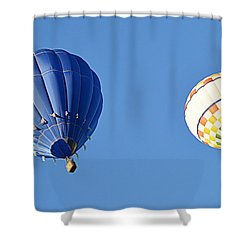 Two High In The Sky Shower Curtain