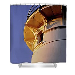 Two Lights, Cape Elizabeth Shower Curtain