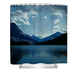 Two Medicine Lake Shower Curtain